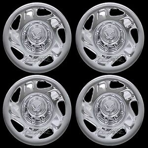 4 Fits Dodge Ram 1500 2500 Truck Van 16 8 Lug Chrome Wheel Covers Rim Hub Caps