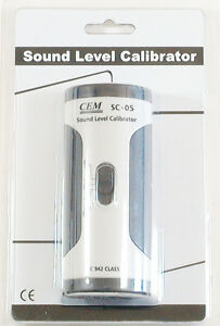 Sc 05 Industrial Sound Noise Level Meter Calibrator 94 114 Db Iec 942 Class 2
