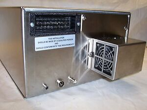 Stainless Steel Electronics Lock Box Housing With Thermoelectric Cooling Tunnel