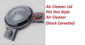 Corvette Air Cleaner Top Reproduction Air Cleaner Lid With O ring New Oem Repro