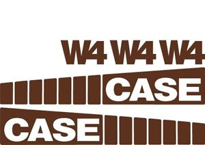 Decal Set For Case Wheel Loader W4