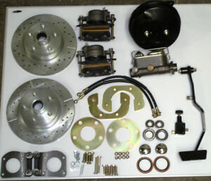 1967 1968 1969 1970 Ford Mustang Power Front Disc Brake Conversion New W Pedal