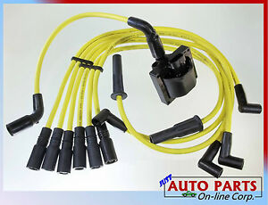 Spark Plug Wire Ignition Coil Blazer S10 Jimmy Savana Express Hombre V6 4 3l