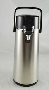 Lightly Used In Box Zojirushi Brand Air Pot Stainless Steel E317918 Khb