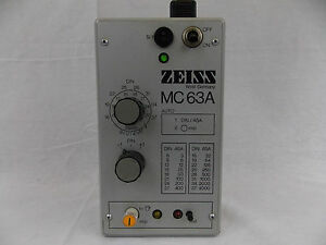 Zeiss Germany Mc 63a Microscope Camera Exposure Controller