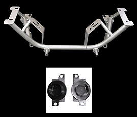 Upr 2005 96 sp Ford 1996 04 Mustang Tubular Chrome Moly K Member Spring Perches