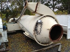 Used Pneumafil Round Product Receiver Combo Cyclone Dust Collector Sold As Is
