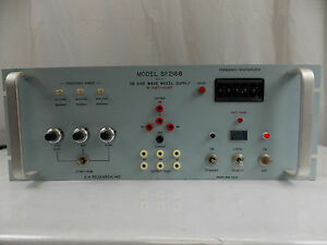 Nh Research Inc Model Sf2168 3 Sine Wave Wheel Supply Frequency Synthesizer