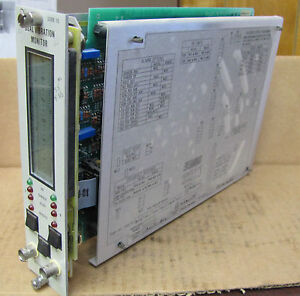 Bently Nevada 3300 Dual Vibration Monitor Plc Module 3300 15 02 01 00 01 00 01