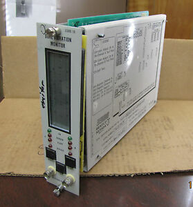 Bently Nevada 3300 Dual Vibration Monitor 3300 15 03 01 01 00 00 00 3300 15 Used