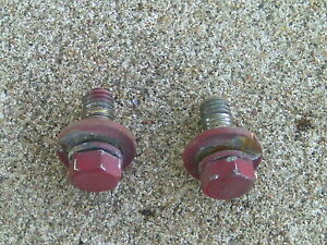 90 93 Acura Integra Rear Hatch Hinge Mounting Bolts Only 3 door Hatchback