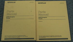 Caterpillar Cat 3208 Truck Engine Parts Manual Set 51z55824 up
