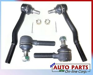New Tie Rod Kit Inner Outer Toyota Pickup 4runner 2wd 4wd 86 95 T100 93 98