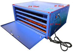 Screen Printing Drying Cabinet Temperature Control Plate Making T shirt Heating