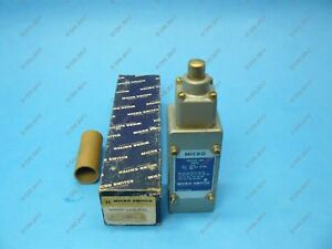 Micro Switch 2ml1 Precision Limit Switch Top Plunger Spring Ret Spdt 20 Amp New