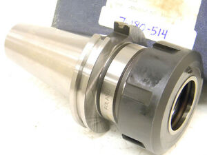 New Toolmex Cat50 Tg150 X 3 50 gage Single Angle Collet Chuck 7 180 514 Cat 50