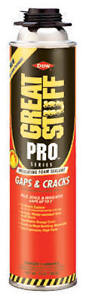 Great Stuff Pro Gap Crack Lot 6 X5 Gap Crack Foam X1 Gun Cleaner