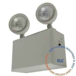 Remote Capable Emergency Exit Light Heavy Duty 12 Volt 100 Watt Fire El100hd12