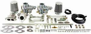 Empi Vw Beetle Dual Epc 34 Carb Kit Dual Port 47 7411