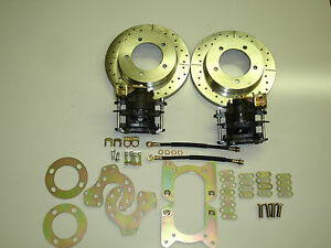 Ford Bronco Truck Small Bearing Rear Disc Brake Conversion Kit 5 On 5 5