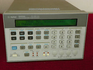 Agilent Hp 8904a Sythesized Function Generator Opt 002 004