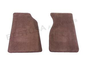 Genuine New Front Floor Mat Set For 1987 1993 Ford Mustang