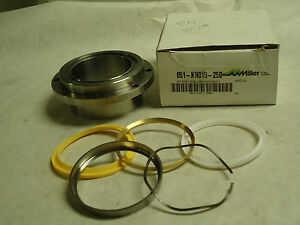 New Parker Miller 2 Hydraulic Cylinder Piston Rod Seal Kit Bolted 051 kr015 250
