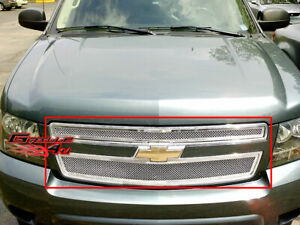 Fits 2007 2014 Chevy Tahoe Suburban Avalanche Mesh Grille Insert
