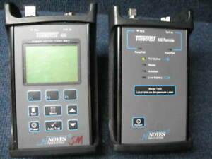 Noyes T420mainsc Turbotest 400 Fiber Optic Tester used