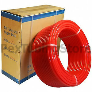 1 X 300ft Pex Tubing W Oxygen Barrier Radiant Heating