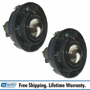 Fog Driving Lights Lamps Left Right Pair Set New For Buick Chevy Pontiac