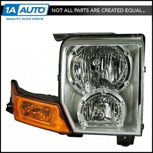 Headlight Headlamp Passenger Side Right Rh New For 06 10 Jeep Commander