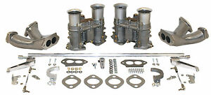 Empi Dual Epc 51mm Carburetor Kit With Race Manifolds Hex Linkage Bug 47 7429