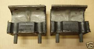 58 1958 Ford 272 292 Cube Inch 8 Cylinder Engine Motor Mounts Pair