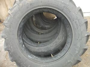 One 11 2x28 8 Ply Ford John Deere R 1 Bar Lug Rear Tractor Tire With Tube