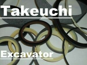 19000 43999 Hydraulic Arm Cylinder Seal Kit Fits Takeuchi Excavator Tb25 Tb125
