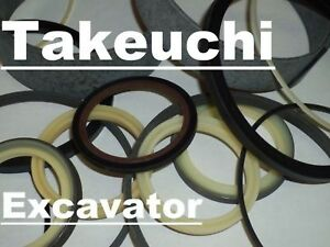 19000 58199 Hydraulic Arm Cylinder Seal Kit Fits Takeuchi Excavator Tl26 Tl126