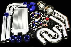 T3 T4 Twin Turbo Charger Kit 800hp For 86 98 Toyota Supra Ma70 Jaz 7mgte 2jzgte