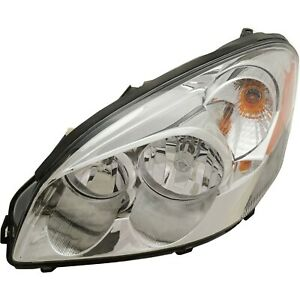 Headlight For 2006 11 Buick Lucerne Cxl 2008 11 Lucerne Cx Super Left With Bulb