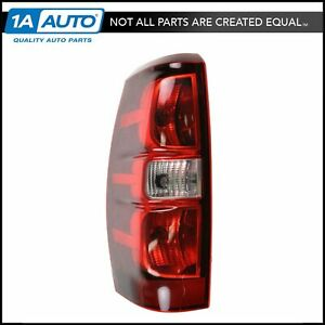Taillight Taillamp Left Driver Side For 07 13 Chevy Avalanche 1500 Pickup Truck