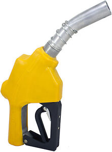 Zl 120l Yellow Stainless 1 1 3 16 automatic Fueling Nozzle Gas Diesel Biodiesel