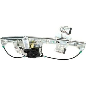 Power Window Regulator For 2000 2005 Cadillac Deville Rear Left Side With Motor