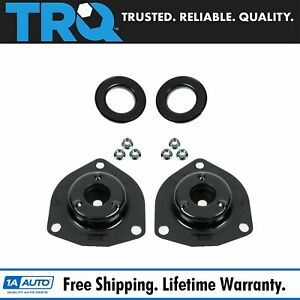 Front Upper Strut Mount Kit Plate Cushion Lh Rh Pair Set Of 2 For Maxima I30