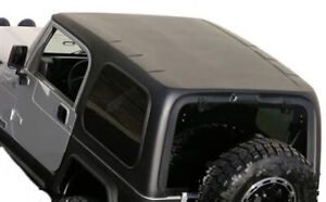 519801 Hardtop With Upper Door Textured Black Jeep 97 06 Wrangler Tj Smittybilt