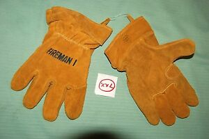 Fireman I Firefighter Gloves Usa size Xx large New