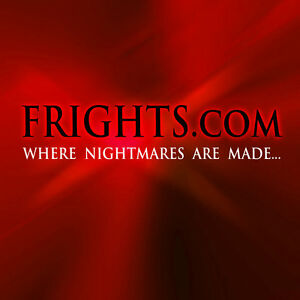 Frights com Premium Halloween Domain Name Horror Fantasy Website Comic Con