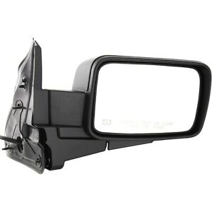 Power Mirror For 2006 2010 Jeep Commander Right Heated Paintable Manual Folding