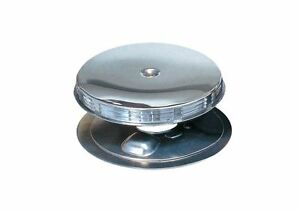 65 66 Gto Air Cleaner Louvered Complete Chrome Top Filter Base Afb Carburetor
