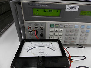 Simpson Meter Direct Current Amperes 0 100 A