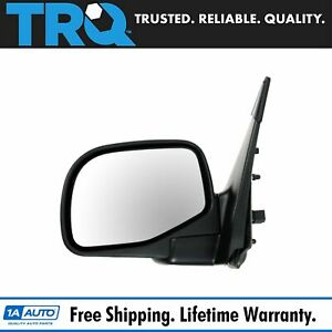 Mirror Power Black Lh Left Driver Side For Ford Mountaineer Explorer